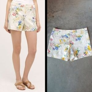 Elevenses Catalonia Floral Embroidered Shorts 8